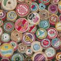 "Ткань для пэчворк 1104-1 из коллекции ""Haberdashery"" ""Makower UK"""