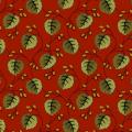 """Ткань для пэчворк 8545R из коллекции """"Holly Berry"""" """"Makower UK"""""""