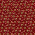 """Ткань для пэчворк 8546R из коллекции """"Holly Berry"""" """"Makower UK"""""""