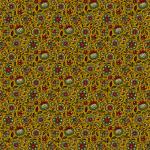 """Ткань для пэчворк 8546Y из коллекции """"Holly Berry"""" """"Makower UK"""""""