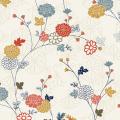 """Ткань для пэчворк 1857Q из коллекции """"Japanese Garden"""" """"Makower UK"""""""