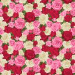 """Ткань для пэчворк 2320R из коллекции """"Summer Garden"""" """"Makower UK"""""""