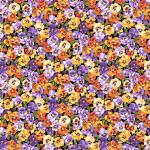 """Ткань для пэчворк 2325L из коллекции """"Summer Garden"""" """"Makower UK"""""""