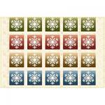 "Ткань фланель (75x110см) 3004-Z из коллекции ""Wonder of winter"" ""Maywood"" (США)"