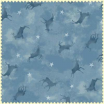 "Ткань фланель (50x55см) 3006-B из коллекции ""Wonder of winter"" ""Maywood"" (США)"