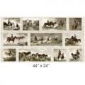 "Ткань для пэчворк (60x110см) 8100-E из коллекции ""Workin the west"" ""Maywood""(США)"
