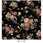 """Ткань для пэчворк (60x110см) 8300-J из коллекции """"Country french"""" """"Maywood""""(США)"""