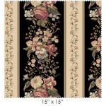 """Ткань для пэчворк (60x110см) 8301-J из коллекции """"Country french"""" """"Maywood""""(США)"""