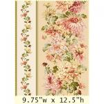"""Ткань для пэчворк (60x110см) 8501-E из коллекции """"Sophia"""" """"Maywood""""(США)"""