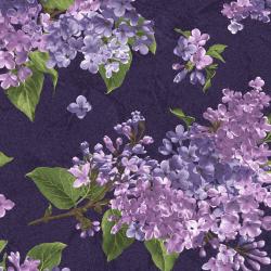 "Ткань для пэчворк (60x110см) 8600-V из коллекции ""Fresh lilacs"" ""Maywood""(США)"