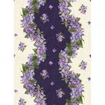 "Ткань для пэчворк 8601-V из коллекции ""Fresh lilacs"" ""Maywood""(США)"