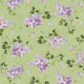 "Ткань для пэчворк (50x55см) 8602-G из коллекции ""Fresh lilacs"" ""Maywood""(США)"