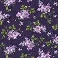 "Ткань для пэчворк (50x55см) 8602-V из коллекции ""Fresh lilacs"" ""Maywood""(США)"