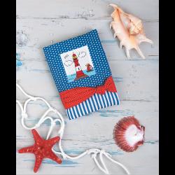 """Набор для шитья """"Обложка для блокнота Мечты о море"""" 12х16см """"Peppy"""""""