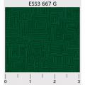 "Ткань для пэчворк (50x55см) 667G из коллекции ""Bear Essentials 3"" ""P&B""(США)"