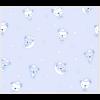 """Ткань фланель (100x110см) 26546BLU1F из коллекции """"Beaux Bebe Flannel"""" """"P&B""""(США)"""