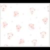 """Ткань фланель (100x110см) 26546LTPIN1F из коллекции """"Beaux Bebe Flannel"""" """"P&B""""(США)"""