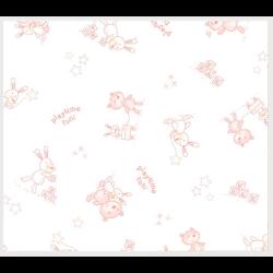 """Ткань фланель (100x110см) 26547PIN1F из коллекции """"Beaux Bebe Flannel"""" """"P&B""""(США)"""