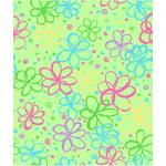 """Ткань для пэчворк (50x55см) 26685GRE из коллекции """"Bloom"""" """"P&B""""(США)"""