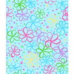 """Ткань для пэчворк (50x55см) 26685TUR из коллекции """"Bloom"""" """"P&B""""(США)"""
