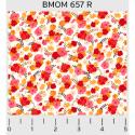 """Ткань для пэчворк (50x55см) 657R из коллекции """"Blissful moments"""" """"P&B""""(США)"""