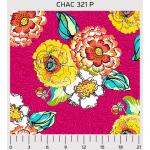 """Ткань для пэчворк (60x110см) 321P из коллекции """"Cha Cha"""" """"P&B""""(США)"""