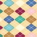 """Ткань для пэчворк (50x55см) 319E из коллекции """"Daydreams"""" """"P&B""""(США)"""