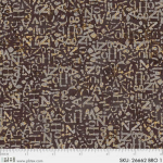 "Ткань для пэчворк (50x55см) 26662BRO из коллекции ""Earthtones 2"" ""P&B""(США)"