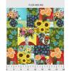 "Ткань для пэчворк (60x110см) 489MU из коллекции ""Florianna"" ""P&B""(США)"