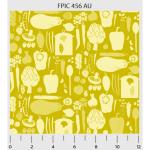 """Ткань для пэчворк (50x55см) 456AU из коллекции """"Fresh Pick"""" """"P&B""""(США)"""