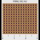 """Ткань для пэчворк (50x55см) 992AU из коллекции """"Friendship ring"""" """"P&B""""(США)"""