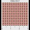"""Ткань для пэчворк (50x55см) 993P из коллекции """"Friendship ring"""" """"P&B""""(США)"""