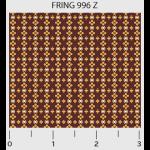 """Ткань для пэчворк (50x55см) 996Z из коллекции """"Friendship ring"""" """"P&B""""(США)"""
