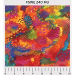 """Ткань для пэчворк (60x110см) 240MU из коллекции """"Flying sweetly"""" """"P&B""""(США)"""