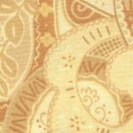"Ткань для пэчворк (50x55см) 204X из коллекции ""Happy go lucky"" ""P&B""(США)"