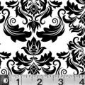 """Ткань для пэчворк (50x55см) 762W из коллекции """"Illustrations"""" """"P&B""""(США)"""
