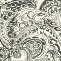 """Ткань для пэчворк (60x110см) 302WK из коллекции """"Le Jardin"""" """"P&B""""(США)"""