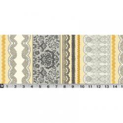 """Ткань для пэчворк (60x110см) 303AU из коллекции """"Le Jardin"""" """"P&B""""(США)"""