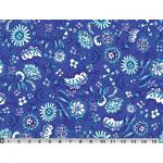 """Ткань для пэчворк (50x55см) 482B из коллекции """"Meridian"""" """"P&B""""(США)"""