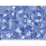 """Ткань для пэчворк (60x110см) 485B из коллекции """"Meridian"""" """"P&B""""(США)"""