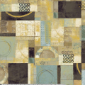 """Ткань для пэчворк (60x110см) 631Z из коллекции """"Neutral territory"""" """"P&B"""" (США)"""