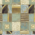 """Ткань для пэчворк (60x110см) 632M из коллекции """"Neutral territory"""" """"P&B"""" (США)"""