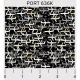 """Ткань для пэчворк (50x55см) 636K из коллекции """"Portcity"""" """"P&B""""(США)"""