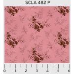 """Ткань для пэчворк (50x55см) 482P из коллекции """"Savannah Classics"""" """"P&B""""(США)"""