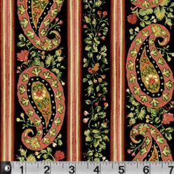 "Ткань для пэчворк (60x110см) 615K из коллекции ""Somerset"" ""P&B"" (США)"