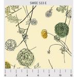 """Ткань для пэчворк (60x110см) 533E из коллекции """"Sweet escape"""" """"P&B"""" (США)"""