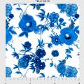 """Ткань для пэчворк (60x110см) 341W из коллекции """"True blue"""" """"P&B""""(США)"""
