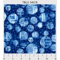 """Ткань для пэчворк (50x55см) 342B из коллекции """"True blue"""" """"P&B""""(США)"""