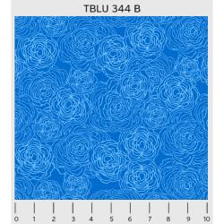 """Ткань для пэчворк (50x55см) 344B из коллекции """"True blue"""" """"P&B""""(США)"""