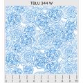 """Ткань для пэчворк (50x55см) 344W из коллекции """"True blue"""" """"P&B""""(США)"""